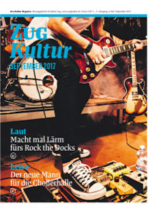 Zug Kultur Magazin Nr. 42 September 2017