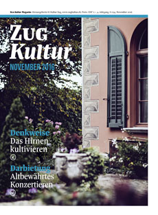 Zug Kultur Magazin Nr. 34 November 2016